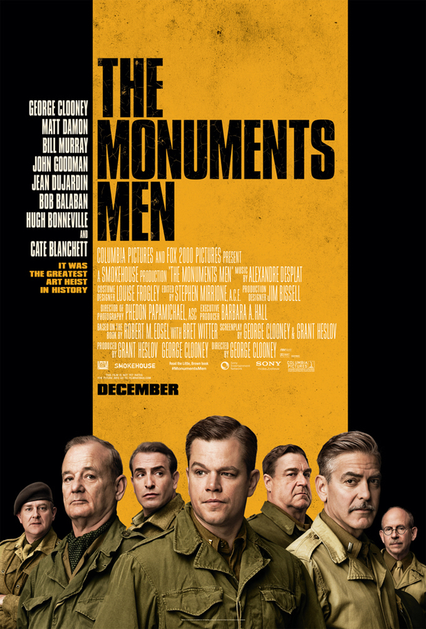 'The Monuments Men' poster