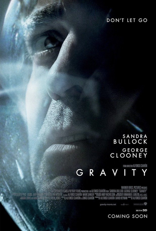 George Clooney in 'Gravity' poster
