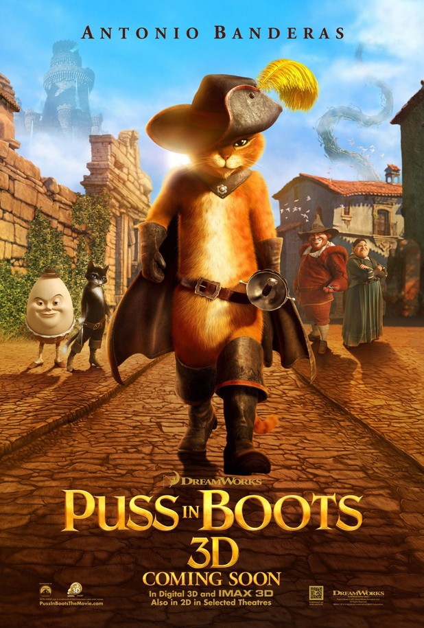 'Puss in Boots' poster