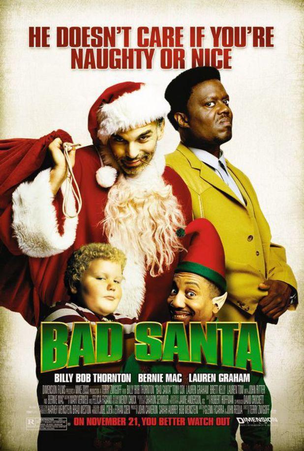 'Bad Santa' poster