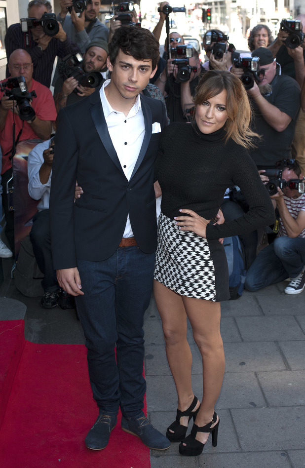 Caroline Flack & Matt Richardson