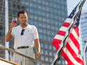 "Actor says he did ""all the flopping around"" in The Wolf of Wall Street."