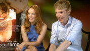 'About Time' Rachel McAdams and Domhnall Gleeson