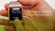 Samsung Galaxy Gear smartwatch hands-on video review, IFA 2013