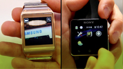 Samsung Galaxy Gear vs Sony SmartWatch 2, IFA 2013