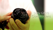 Digital Spy gets hands on with Sony's new lens accesory, the QX10.