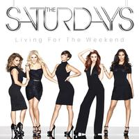 The Saturdays 'Living For The Weekend' artwork