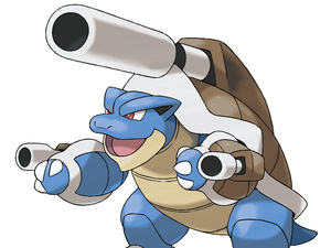 Pokemon X and Y: Mega Blastoise