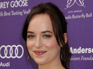 Dakota Johnson at the 12th Annual Chrysalis Butterfly Ball, New York.
