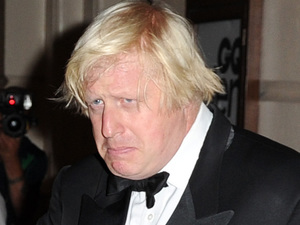 Boris Johnson arriving at the GQ Men of the Year Awards held at the Royal Opera House