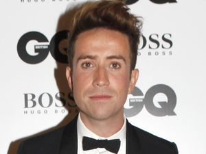 Nick Grimshaw arriving at the GQ Men of the Year Awards held at the Royal Opera House