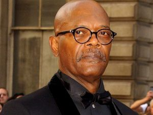Samuel L Jackson arriving at the GQ Men of the Year Awards held at the Royal Opera House