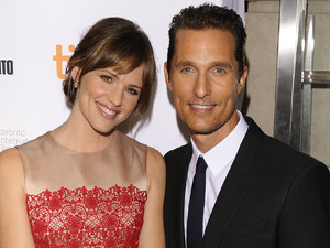 Jennifer Garner and Matthew McConaughey at the 'Dallas Buyers Club' premiere