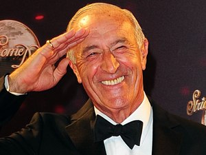 Judge Len Goodman arriving for the Strictly Come Dancing Photocall at Elstree Studios