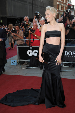 Jessie J attends the GQ Men of the Year Awards in association with Hugo Boss at the Royal Opera House, London.