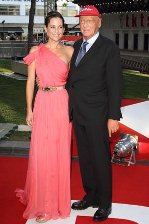 'Rush' film premiere, London, Britain - 02 Sep 2013 Niki Lauda