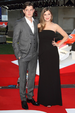 'Rush' Film Premiere, London, Britain - 02 Sep 2013 Sam Riley and Alexandra Maria Lara