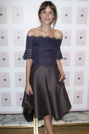 Alexa Chung launches her book in Liberty, London