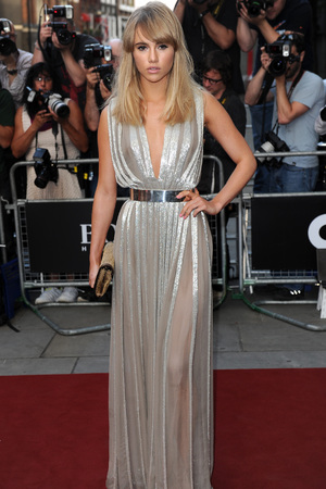 Suki Waterhouse attends the GQ Men of the Year Awards in association with Hugo Boss at the Royal Opera House, London.