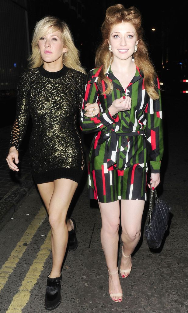 Nicola Roberts and Ellie Goulding