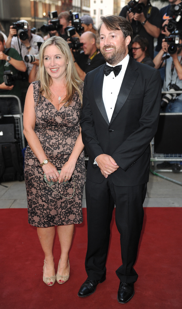 Victoria Coren and David Mitchell