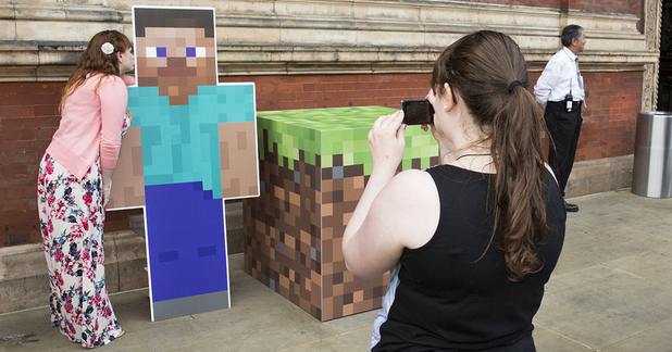 The World of Minecraft at V&A Friday Lates