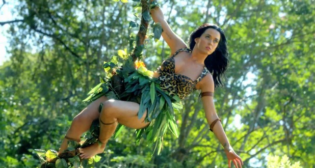 Katy Perry in 'Roar' music video