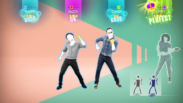 'Blurred lines' in Just Dance 2014