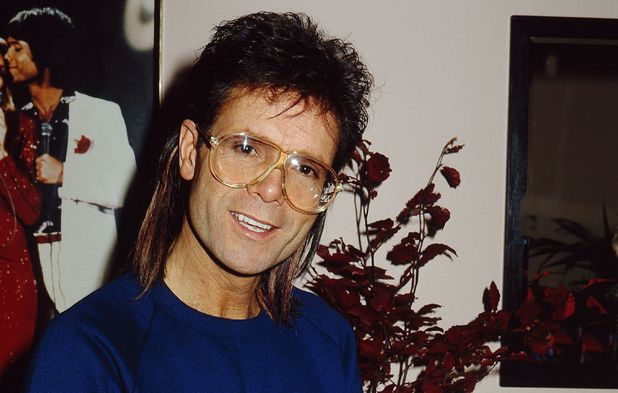 Sir Cliff Richard backstage at the Dominion Theatre where he was performing in the musical 'Time'