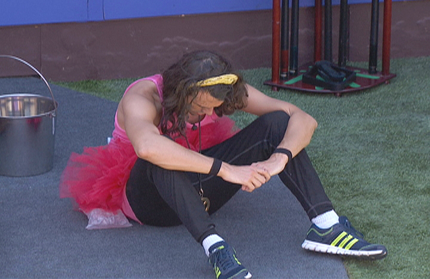 Big Brother USA:  McCrae is upset