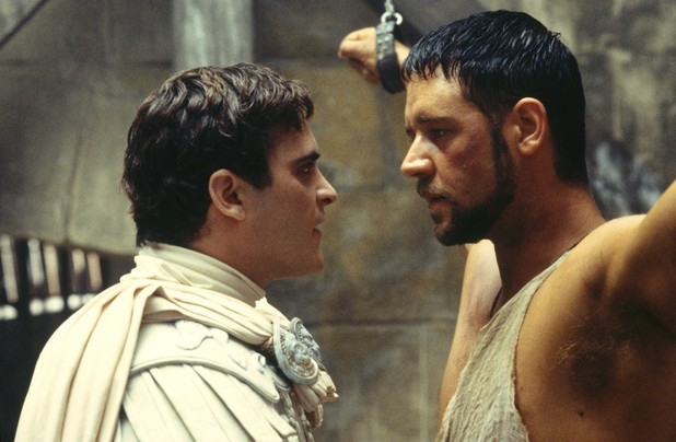 Maximus and Commodus