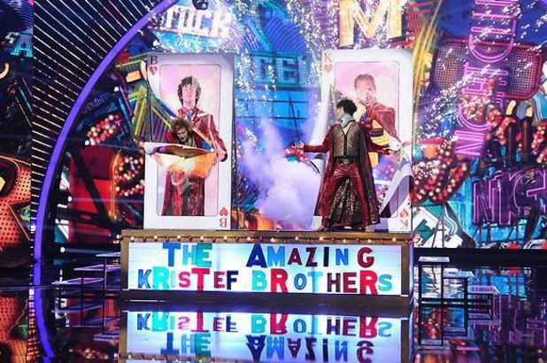 America's Got Talent Semi-final: The KriStef Brothers