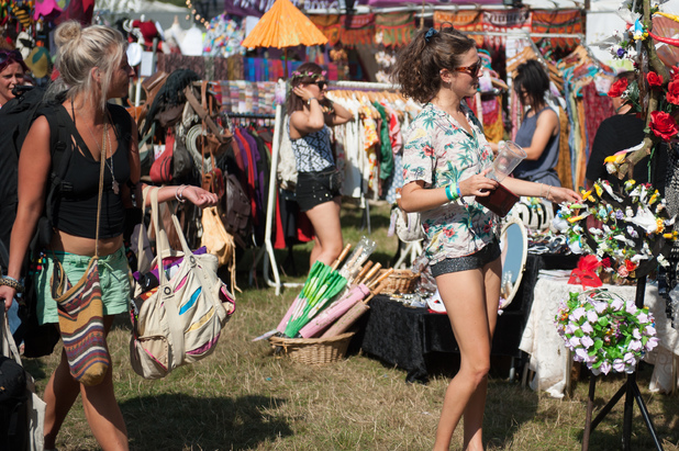 Bestival 2013 - Marketplace