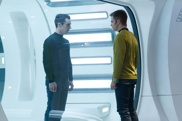 Captain Kirk and Khan (Star Trek Into Darkness)