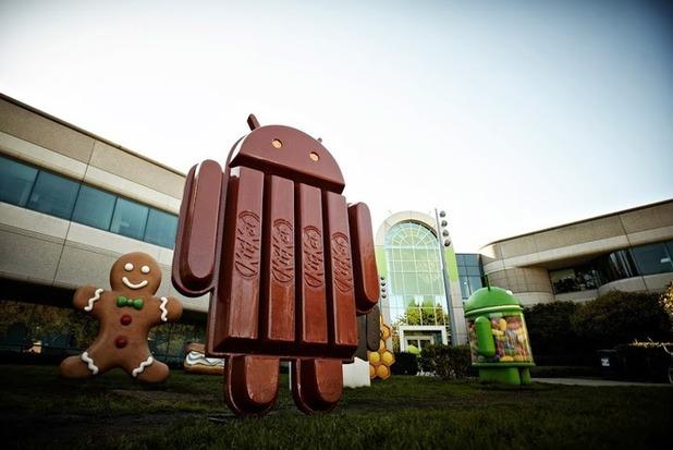 Android 4.4 Kit Kat.