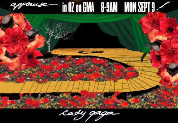 Lady Gaga announces 'Wizard of Oz' inspired GMA performance.