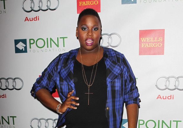 Alex Newell attends