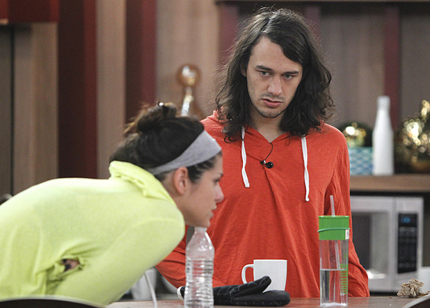 Big Brother USA:  Amanda and McCrae