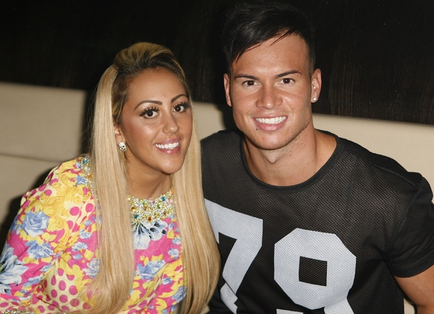 Sophie Kasaei and Joel Corry
