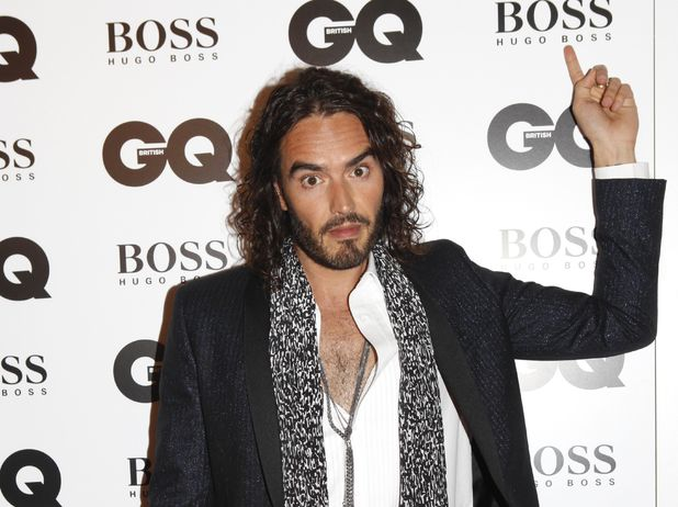 Russell Brand at the GQ Men of the Year Awards 2013