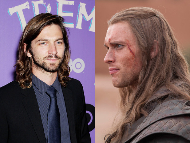 Michiel Huisman, Ed Skrein in 'Game of Thrones'