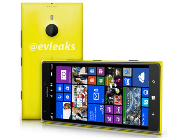 Purported product shot of the Nokia Lumia 1520 thablet