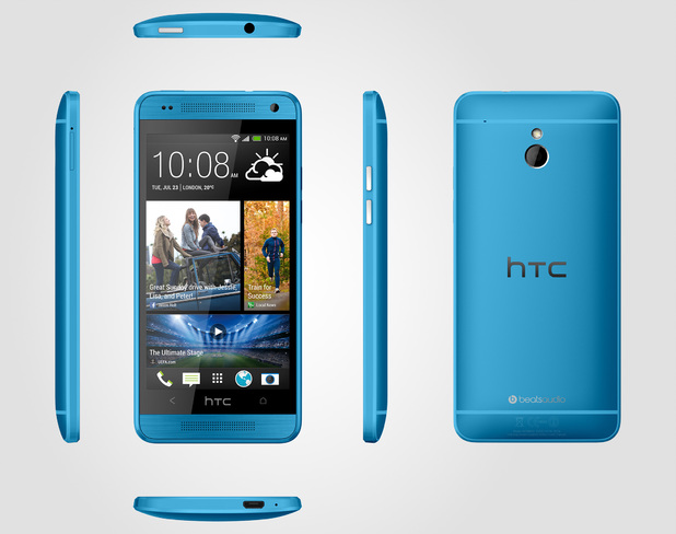 HTC One Mini blue