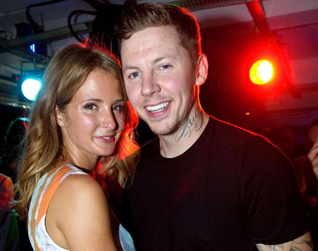 Launch of 'Ink' nightclub, Leicester Square, London, Millie Mackintosh and Professor Green 4 Sep 2013