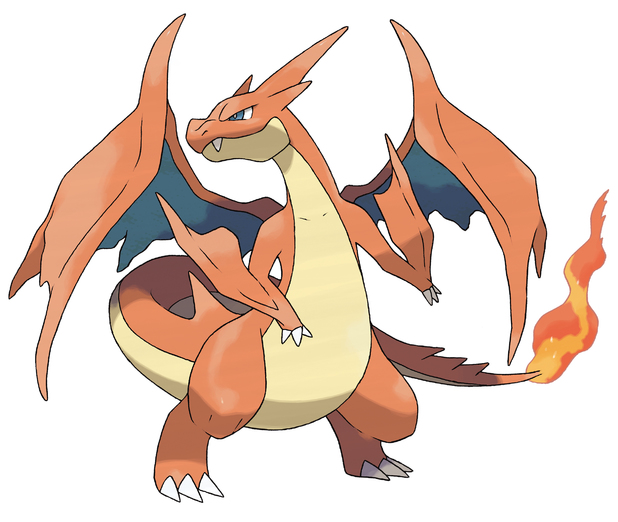 Pokemon X and Y: Mega Charizard