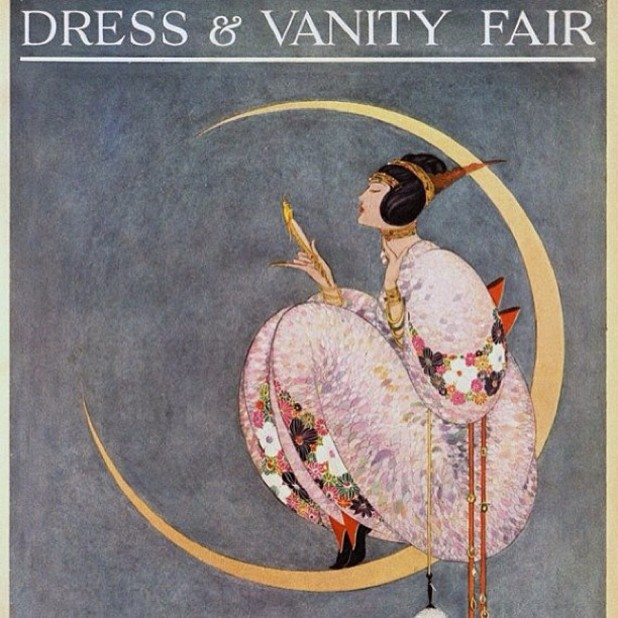 Dress & Vanity Fair cover 1913.
