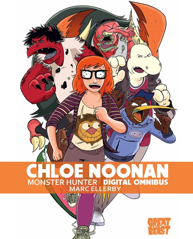 Marc Ellerby's Chloe Noonan: Monster Hunter comic.