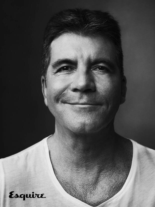 Simon Cowell in the October isse of Esquire magazine
