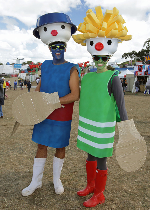 Festival goers get into the spirit of Bestival