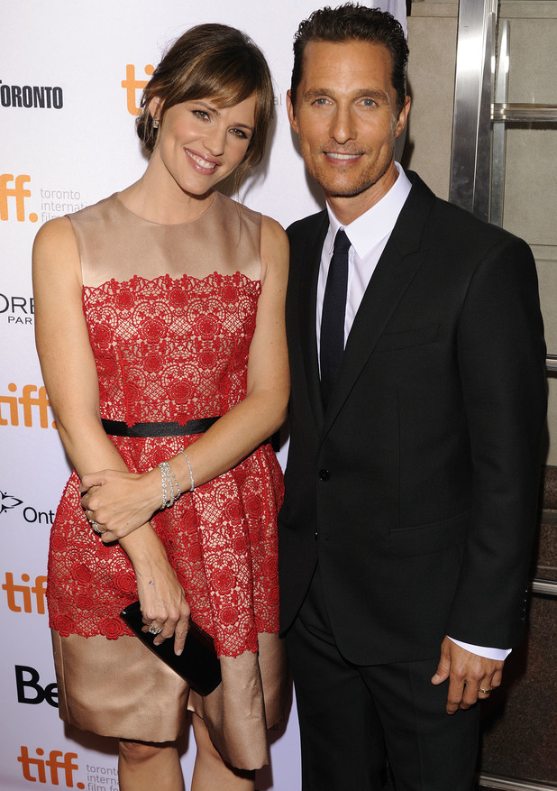 Jennifer Garner and Matthew McConaughey
